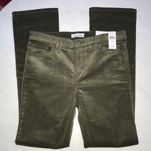 LOFT Modern Boot Cut Corduroy Pants-NWT-28/6